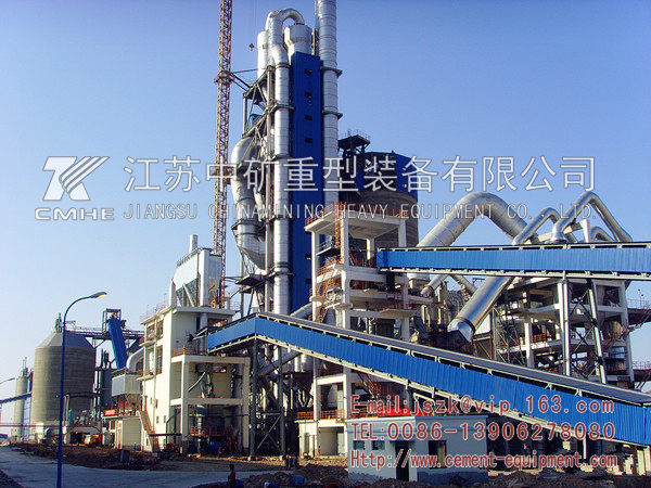 Cement production line